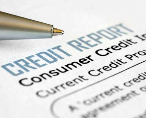 State credit report limits