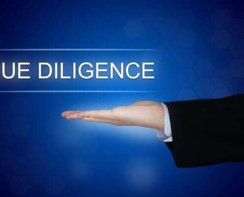 Do your due diligence, before problems arise!