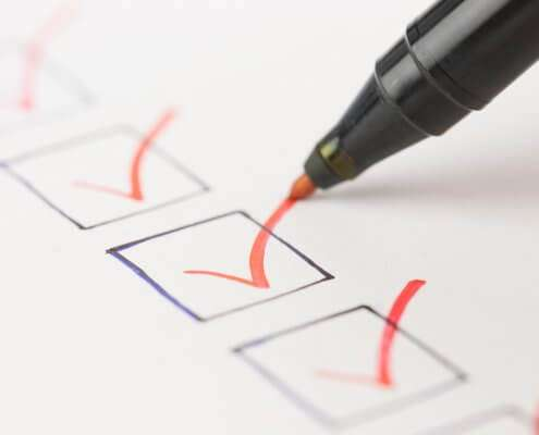 checklist for background screening services provider