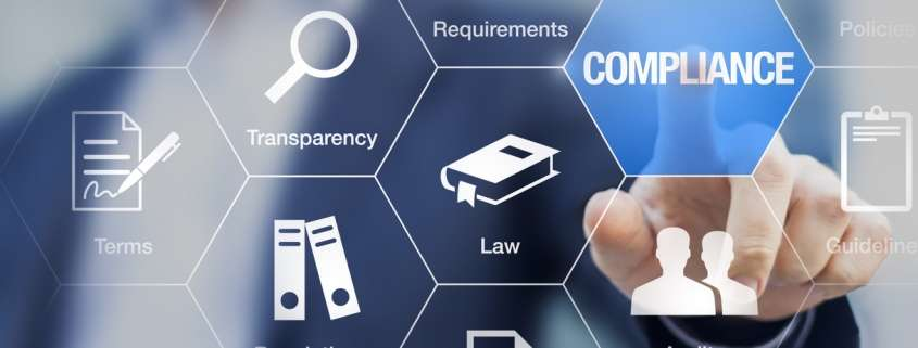 concept of business staying FCRA compliant