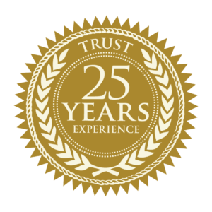trust 25 years experience