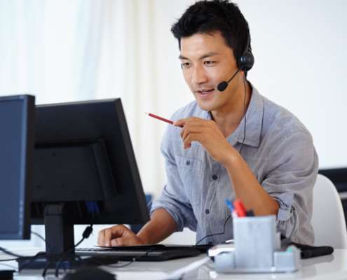 background check vendors using phone to communicate