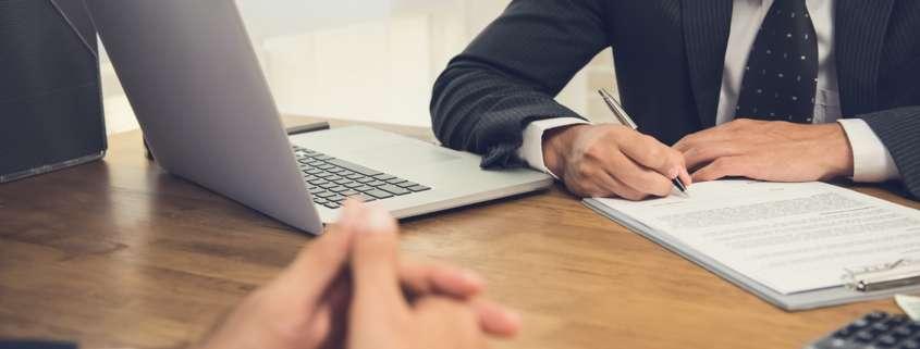 employment verification at job interview