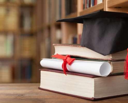 graduation concept for employment verification