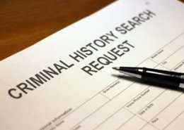 national criminal history package request