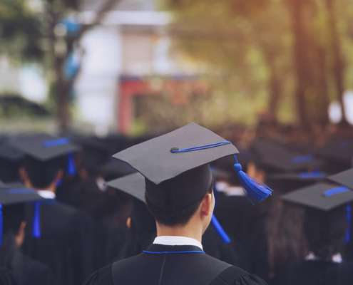 graduation day - education verification looks at GPA and graduation